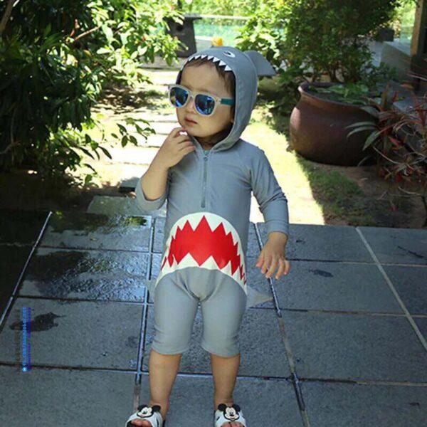 Bộ bơi trẻ em liền thân BBT222