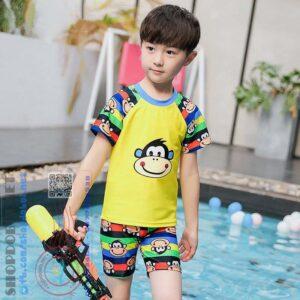 Bộ đồ bơi bé trai (Áo + Quần + Mũ) BBT1292 (2)