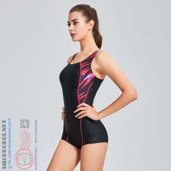 Bộ đồ bơi nữ liền thân thể thao kháng nước BBW6168D (10)