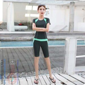 Mã BBN8809G-Bộ đồ bơi nữ ngắn tay