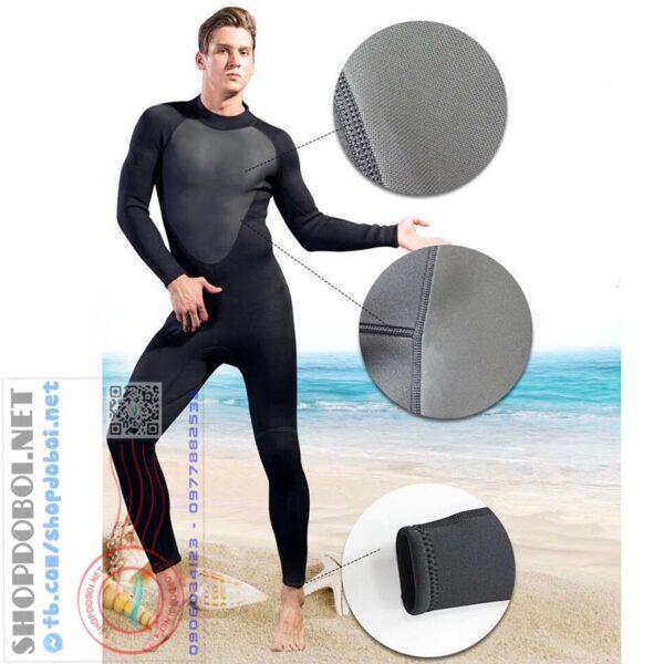 Mã BBL001 - Bộ đồ lặn nam giữ ấm, chống va đập - dày 3mm (2)