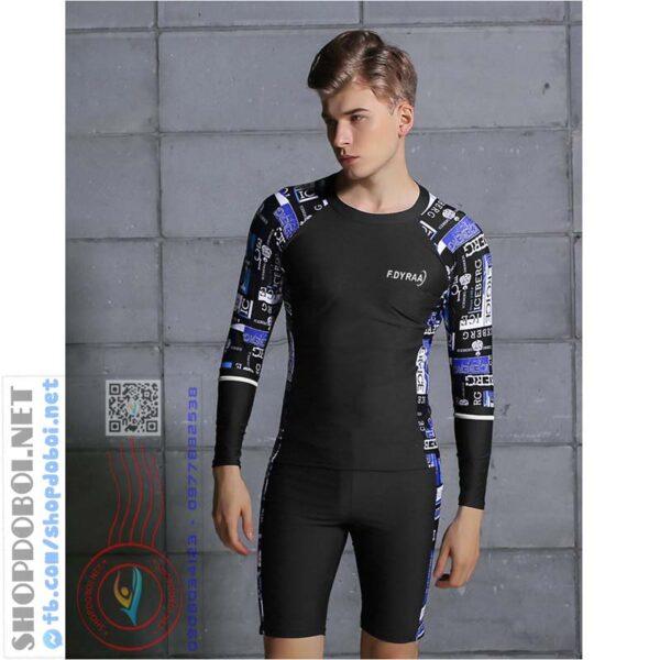 Mã BBM9392C - Bộ đồ bơi nam dài tay (2)